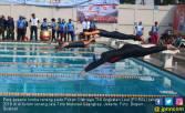 PORAL 2018: Kowal Koarmada II Raih Medali Emas Cabor Renang - JPNN.COM