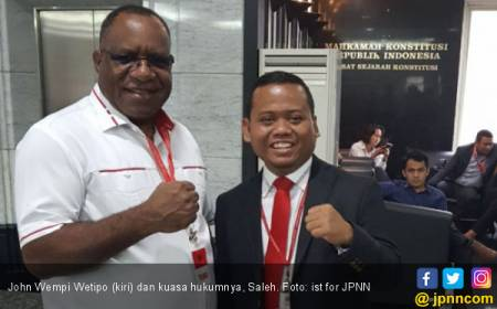 Kuasa Hukum John Wempi-Habel Beber Kecurangan Pilkada Papua