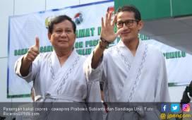 Enam Alasan Prabowo - Sandi Tak Bisa Dianggap Enteng - JPNN.COM