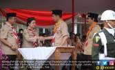 Menteri Puan Dampingi Jokowi Hadiri Upacara Hari Pramuka - JPNN.COM