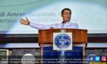 Menteri Amran Angkat Dua Isu Saat Kuliah Umum di IPB