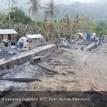 Lokasi kebakaran di kampung Gurusina, NTT. Foto: Humas Kemensos