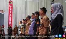 Dihadiri Wamenkeu, Bea Cukai Bandar Lampung Musnahkan BMN