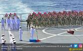 Satgas Rimpac 2018 Peringati Kemerdekaan di Samudera Pasifik - JPNN.COM
