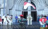 Umat Katolik TNI-Polri Gelar Misa Syukur HUT RI ke-73 - JPNN.COM