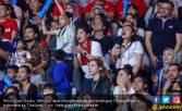 Dian Sastro Menyemangati Tim Basket Indonesia di AG 2018 - JPNN.COM
