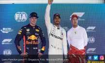 Posisi Pole Bawa Hamilton Genggam Podium F1 Singapura