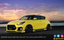 Modifikasi Suzuki Swift Sport Menjilat Aspal - JPNN.COM