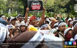 Gubernur Anies Baswedan Penuhi Tuntutan Honorer K2 - JPNN.COM