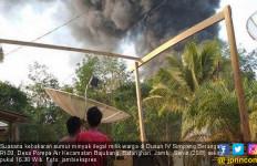 Sumur Minyak Ilegal Kembali Terbakar di Jambi - JPNN.com