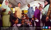 Gubernur Sulsel Bawa Koper Berisi Rp 1 Miliar ke Pengungsian