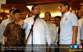 Prabowo - Sandi Gunakan Teori Bakar Rumah dalam Kampanye? - JPNN.COM