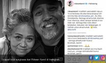 Istri Indro Warkop Meninggal, Ridwan Kamil Ikut Berduka
