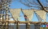 Jembatan Bambu Percantik Ekowisata Mangrove - JPNN.COM