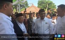 Silaturahmi di Bangkalan, Ma'ruf Amin: Saya Berdarah Madura - JPNN.COM