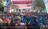 Pelataran BKB Jadi Pusat Gelaran Sepeda Nusantara Palembang - JPNN.COM