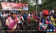 Even Gowes Sepeda Nusantara di Lampung Timur Meriah