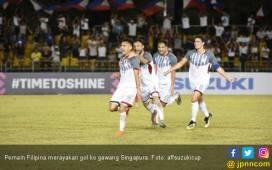 Piala AFF 2018: Lihat Gol Filipina ke Gawang Singapura - JPNN.COM