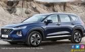 Keren! Hyundai Santa Fe Terbaru Diberkati Sensor Sidik Jari - JPNN.COM
