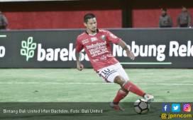Teguran Keras Pelatih Bali United kepada Irfan Bachdim - JPNN.COM