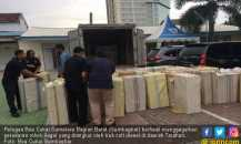 Bea Cukai Sumbagbar Sita 800 Ribu Batang Rokok Ilegal