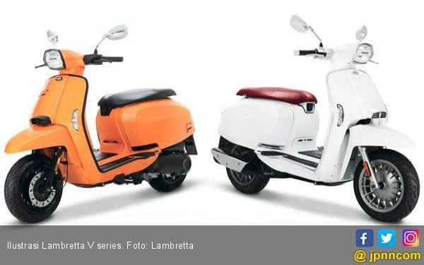 Lambretta Mulai Sasar Persaingan dengan Vespa Elettrica - JPNN.com