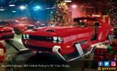 Dodge Sulap Challenger SRT Jadi Kereta Sinterklas - JPNN.COM