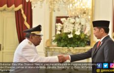 Gubernur Riau: Ingat Tanah, Ingat Pak Jokowi - JPNN.com
