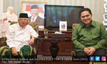 Respons KH Ma'ruf soal Rencana BPN Prabowo Pindah ke Jateng