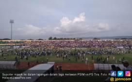 Gila! Lihat nih Duel PSIM vs PS Tira Berkecamuk - JPNN.COM
