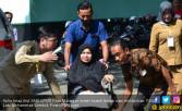 Aulia Masih Pucat Usai Melahirkan, Semangat Ikut SKB CPNS - JPNN.COM
