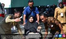 Aulia Masih Pucat Usai Melahirkan, Semangat Ikut SKB CPNS