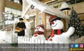 Dekorasi Natal ini Terbuat dari Ratusan Biskuit - JPNN.COM