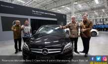 Mercedes Benz C-Class Baru Rakitan Lokal Kian Mumpuni