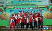 Timnas Wushu Raih 4 Emas pada ASEAN University Games 2018