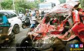 Kuasa Tuhan, Mobil Remuk Wahyu Cuma Lecet - JPNN.COM