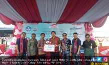 AHM Lanjutkan Pendidikan Vokasi Industri ke SMKN 3 Kaltara