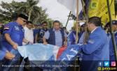 SBY Kesal Lihat Bendera Demokrat Dirobek di Pekanbaru - JPNN.COM