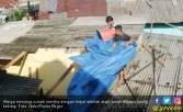 3000 Asbes dan 1000 Terpal Untuk Korban Puting Beliung Bogor - JPNN.COM