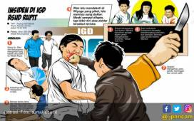 Keluarga Pasien Mengamuk, Dokter Dianiaya, Diancam Dihabisi - JPNN.COM