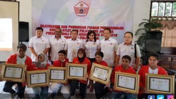 KONI DKI Jakarta memberikan apresiasi kepada para atlet ibu kota yang berhasil meraih medali pada Asian Games 2018. Foto: Istimewa