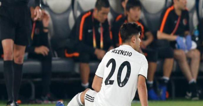 Marco Asensio. Foto: realmadrid