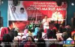 Hadiri Deklarasi, Bang Ara Bercerita tentang Kebaikan Jokowi - JPNN.COM