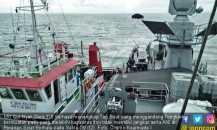 KRI Cut Nyak Dien Tangkap Tug Boat di Perairan Selat Berhala