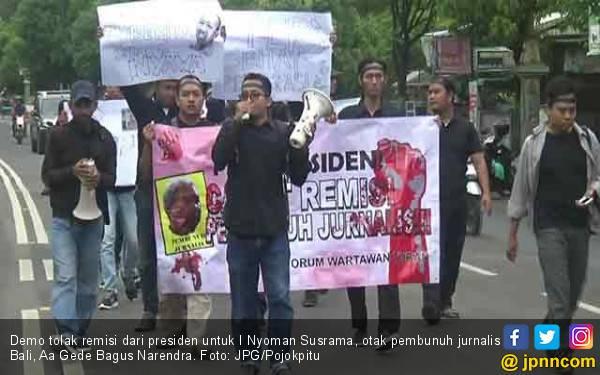 Wartawan Masih Gelar Demo Tolak Remisi Jokowi untuk Pembunuh Prabangsa - JPNN.com