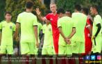 Jelang 8 Besar Piala Presiden, Arema FC Gembleng Fisik Pemain di Kebun Raya - JPNN.COM