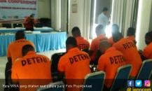 Ditahan di Imigrasi, 11 WNA Diduga Rencanakan Penipuan