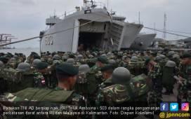 Pasukan TNI AD Sudah Bergerak ke Perbatasan RI - Malaysia, Hati-hati! - JPNN.COM