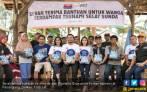 Diamond Group Donasikan 49 Ribu Botol Air Mineral ke Korban Tsunami Banten - JPNN.COM