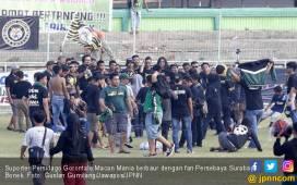 Alasan Suporter Persidago Serbu Pemain Persebaya, Oalaaaahhh - JPNN.COM